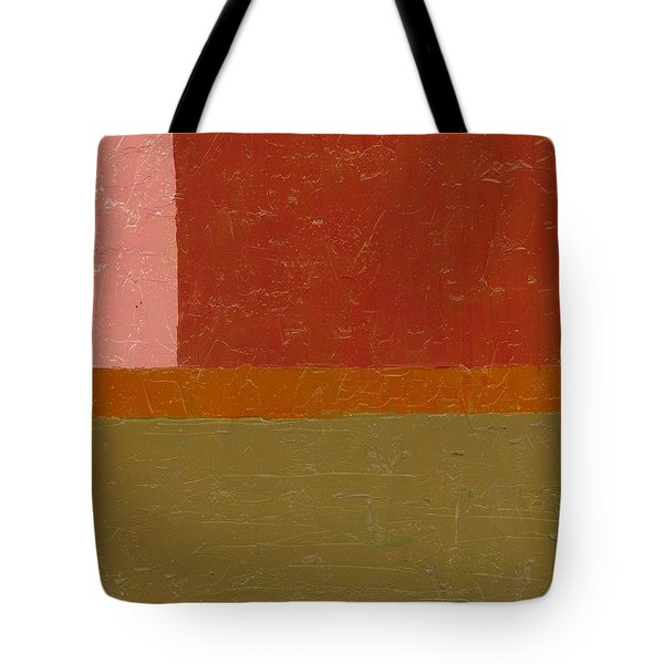 Perspective In Color Collage 12 Tote Bag by Michelle Calkins