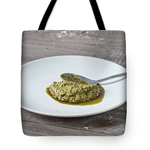 Pesto Tote Bag by Tom Gowanlock
