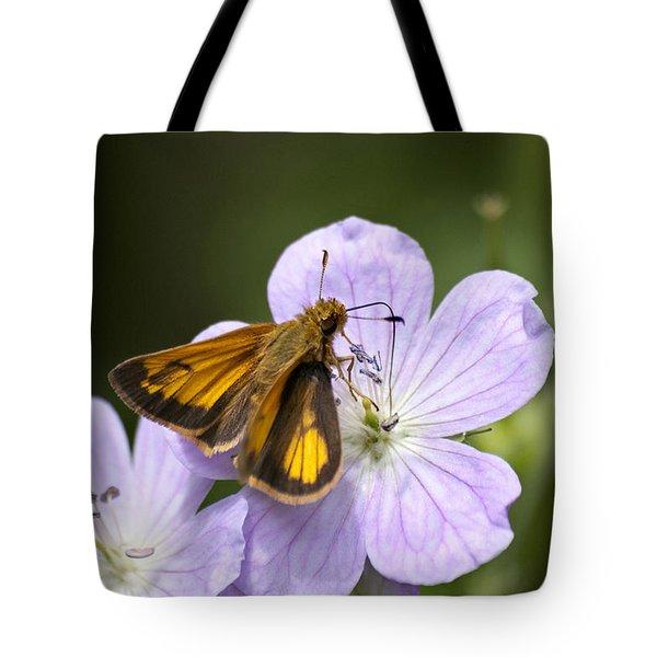 Petal To Petal Tote Bag by Christina Rollo