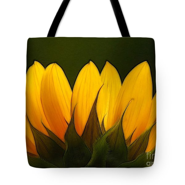 Petales de Soleil - a01 Tote Bag by Variance Collections