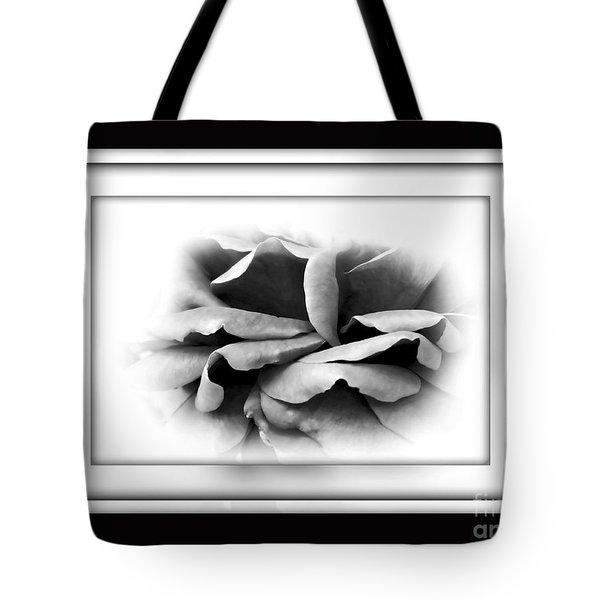 Petals And Shadows 2 Tote Bag by Kaye Menner