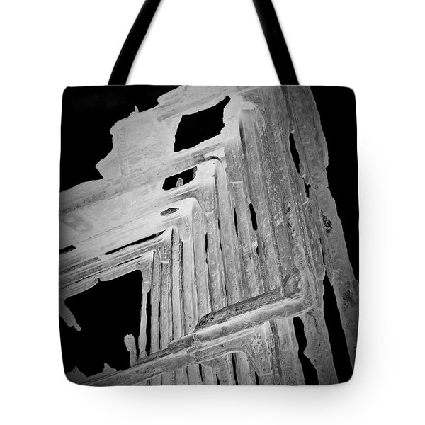 Peter Iredale Reverse Bw 6 Tote Bag by Chalet Roome-Rigdon