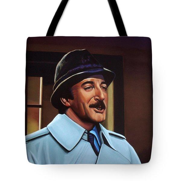 Peter Sellers as inspector Clouseau  Tote Bag by Paul Meijering