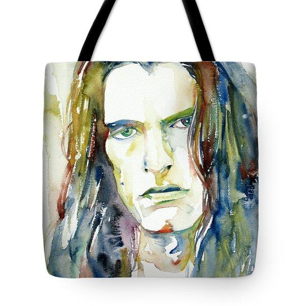Peter Steele Portrait.4 Tote Bag by Fabrizio Cassetta