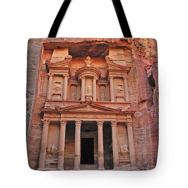 Petra Treasury Tote Bag by Tony Beck