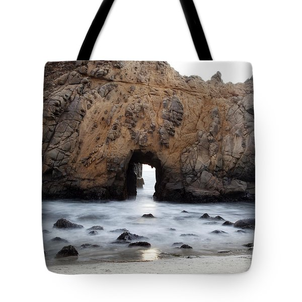 Pfeiffer Beach Arch Tote Bag by Jenna Szerlag