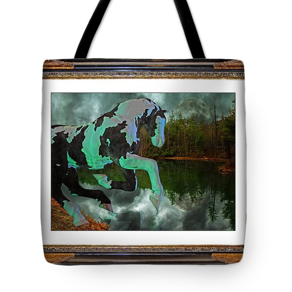 Phantom on the Lake Tote Bag by Betsy A  Cutler
