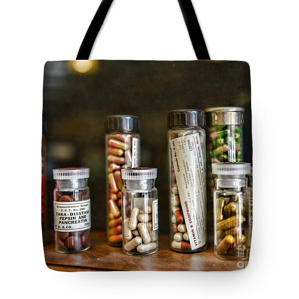 Pharmacist  For All That Ails You Tote Bag by Paul Ward