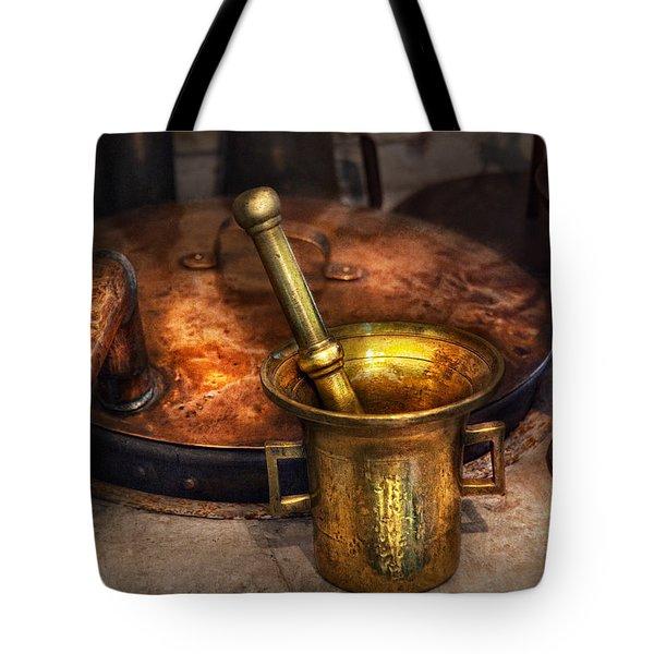 Pharmacist - Making Magic Tote Bag by Mike Savad