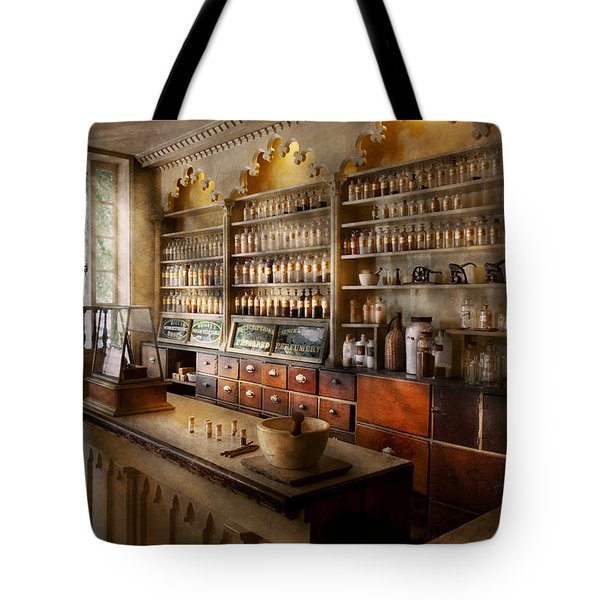 Pharmacist - The Dispensatory Tote Bag by Mike Savad