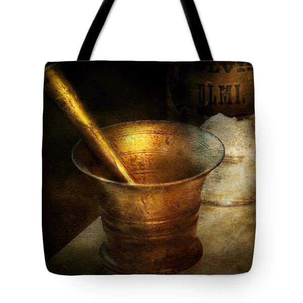 Pharmacist - The Pounder Tote Bag by Mike Savad