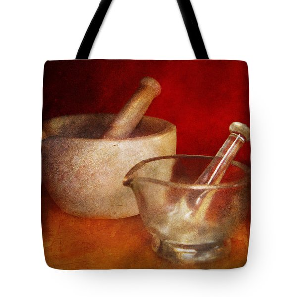 Pharmacist - Very important tools  Tote Bag by Mike Savad