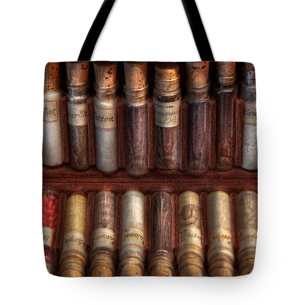 Pharmacy - Pharmacy cocktails mix Tote Bag by Mike Savad