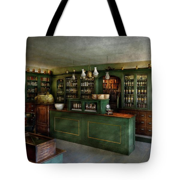 Pharmacy - The Chemist Shop  Tote Bag by Mike Savad