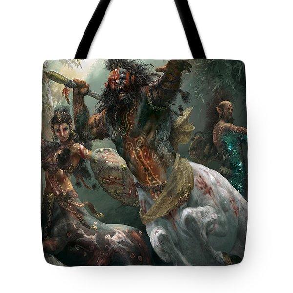 Pheres-band Raiders Tote Bag by Ryan Barger