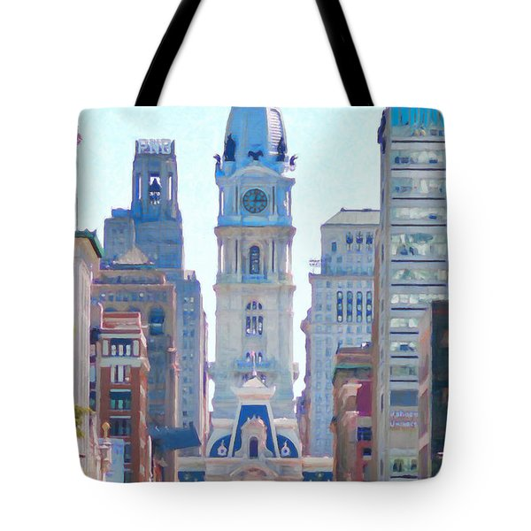 Philadelphia City Hall 20130703 Tote Bag by Wingsdomain Art and Photography