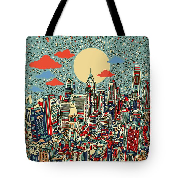 Philadelphia Dream 2 Tote Bag by Bekim Art