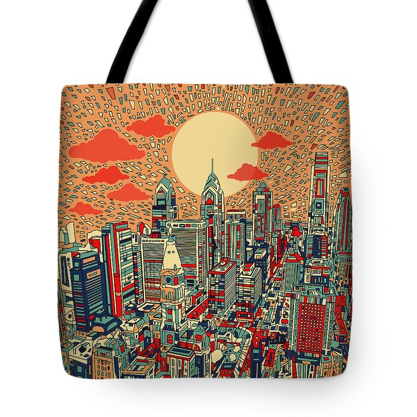 Philadelphia Dream Tote Bag by Bekim Art