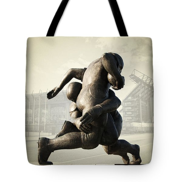 Philadelphia Eagles Tote Bag by Bill Cannon