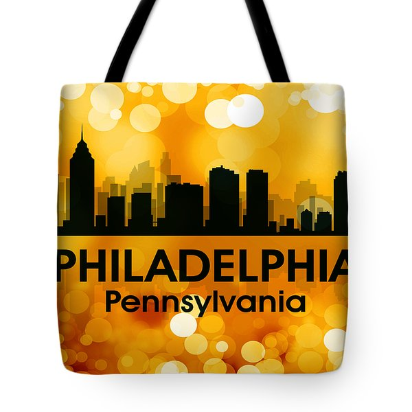 Philadelphia Pa 3 Tote Bag by Angelina Vick