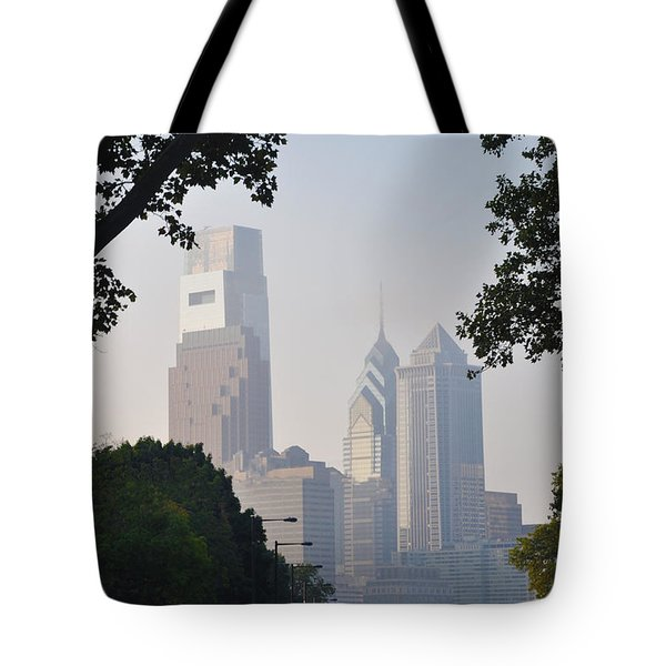Philadelphia's Skyscrapers Tote Bag by Bill Cannon