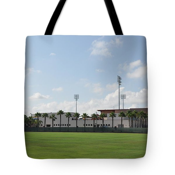 Phillies Brighthouse Stadium Clearwater Florida Tote Bag by Bill Cannon