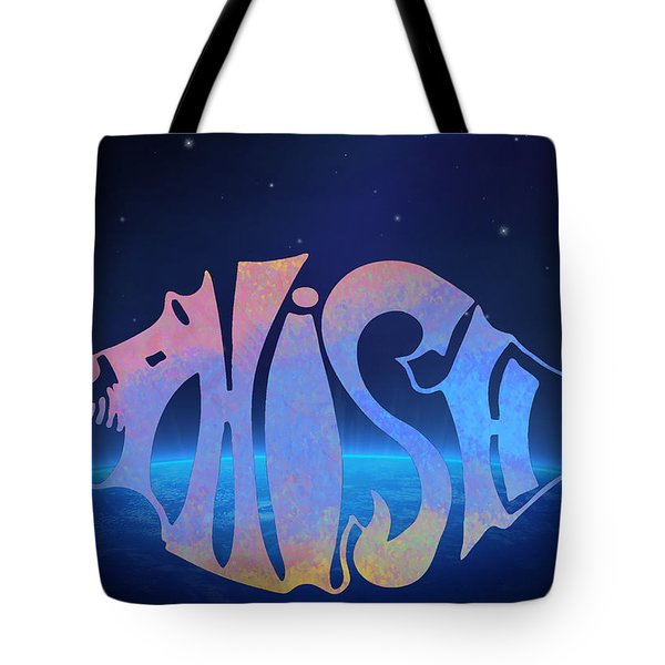 Phish Tote Bag by Bill Cannon