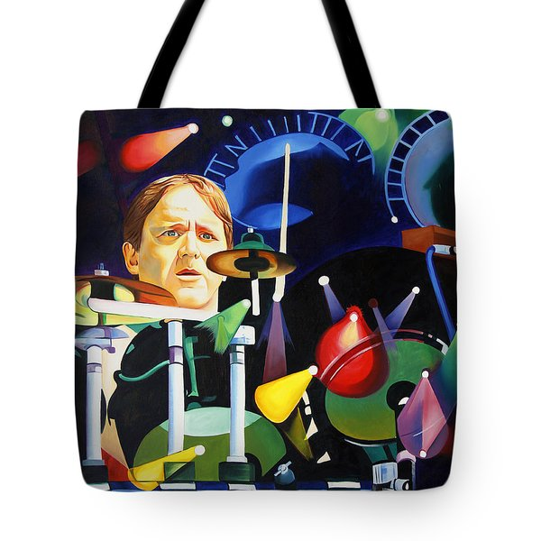 Phish Full Band Fishman Tote Bag by Joshua Morton