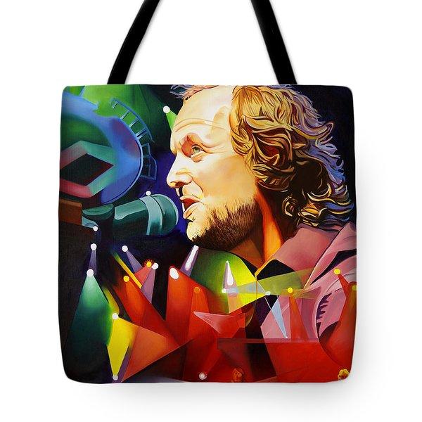 Phish Full Band Mcconnell Tote Bag by Joshua Morton