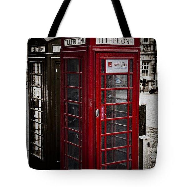 Phone Home Tote Bag by Erik Brede