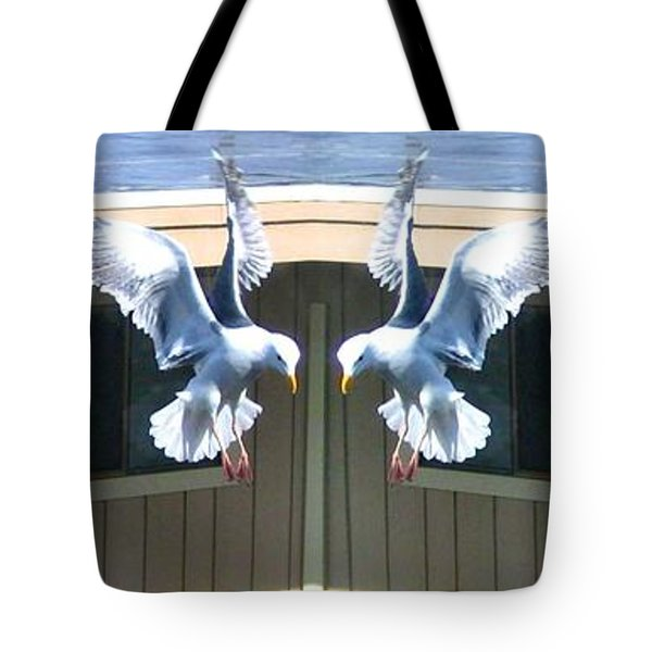 Photo Synthesis 3 Tote Bag by Will Borden