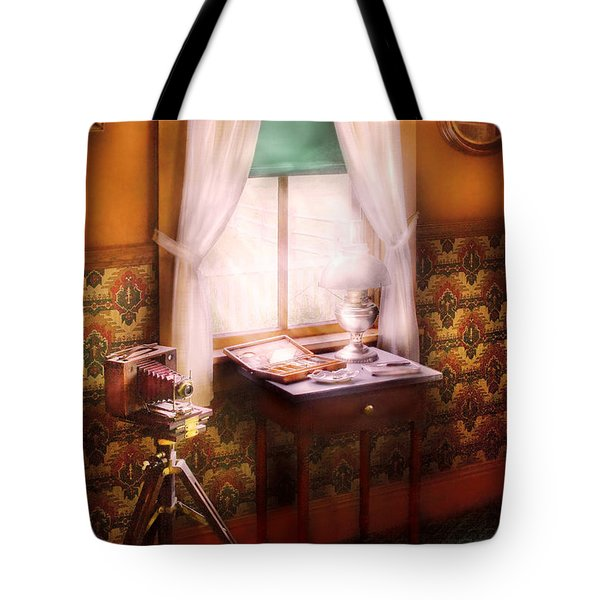 Photography - Creative Pursuits Tote Bag by Mike Savad