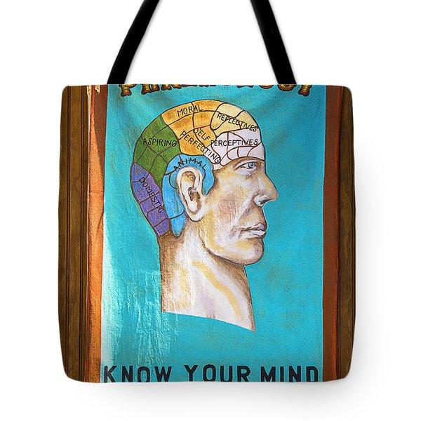 Phrenology Tote Bag by Garry Gay