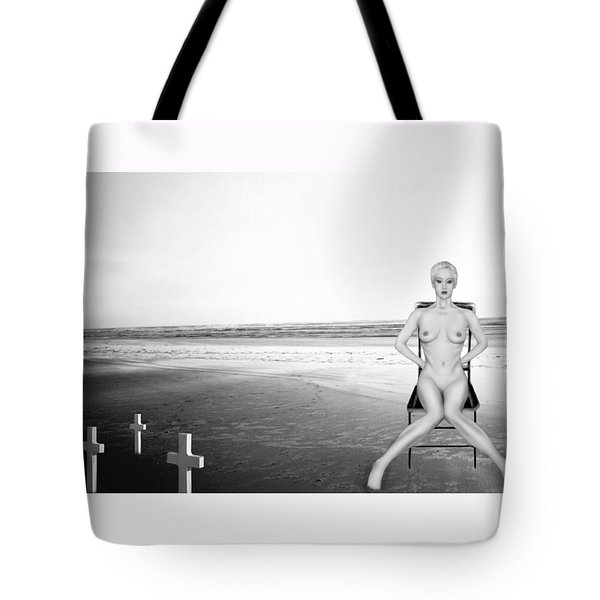 Physical Manifestations - Self Portrait Tote Bag by Jaeda DeWalt