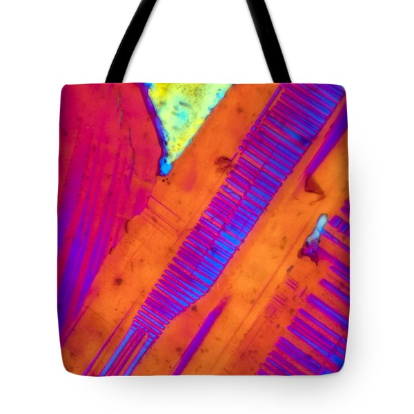 Piano Keys Tote Bag by Tom Phillips