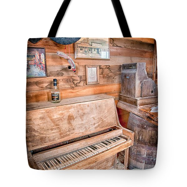 Piano Man Tote Bag by Cat Connor