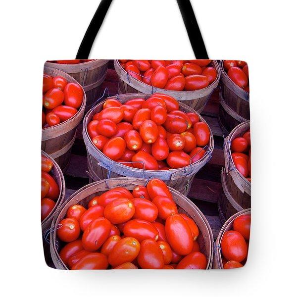 Pick a Peck Tote Bag by Rhonda Leonard