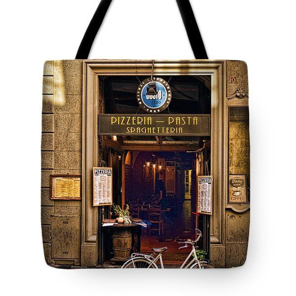 Pickup Or Delivery Tote Bag by Mick Burkey