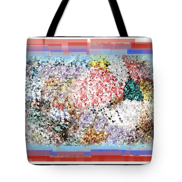 Pieces Of April Tote Bag by Bill Cannon
