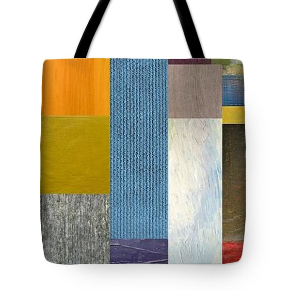 Pieces Parts Ll Tote Bag by Michelle Calkins