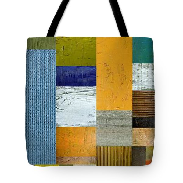 Pieces Parts Lv Tote Bag by Michelle Calkins