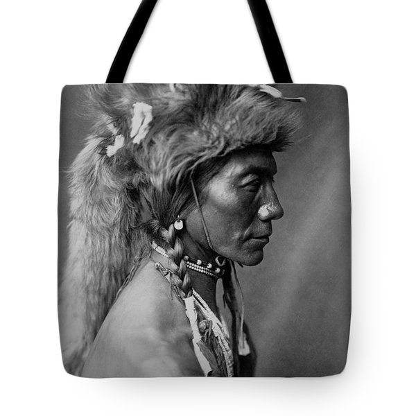 Piegan Indian Circa 1910 Tote Bag by Aged Pixel