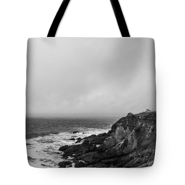pigeon point lighthouse Tote Bag by Ralf Kaiser