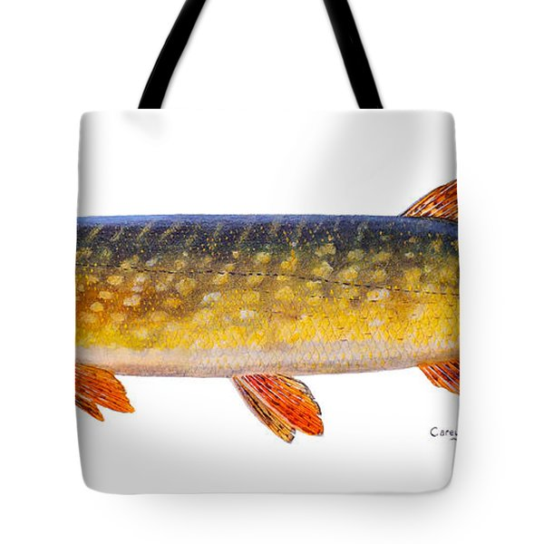 Pike Tote Bag by Carey Chen