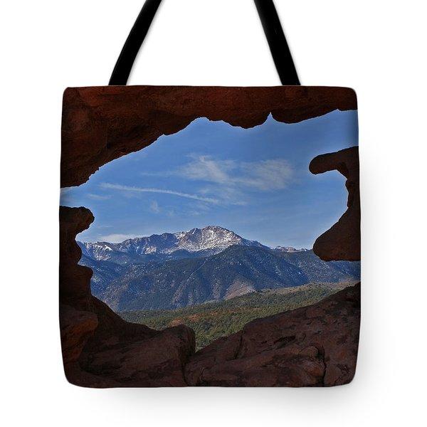 Pikes Peak 2 2012 Tote Bag by Ernie Echols