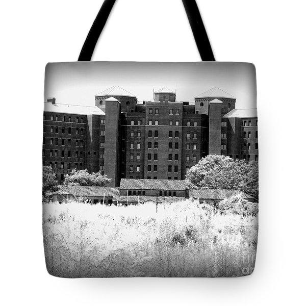 Pilgrim State Psychiatric Hospital Tote Bag by Ed Weidman