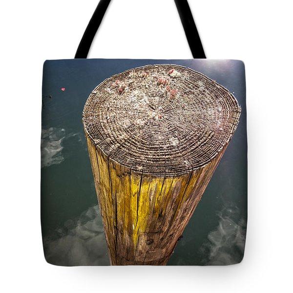 Piling Tote Bag by David Stone