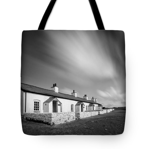 Pilot Cottages Tote Bag by Dave Bowman