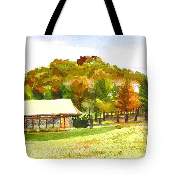 Pilot Knob Mountain 2 Tote Bag by Kip DeVore