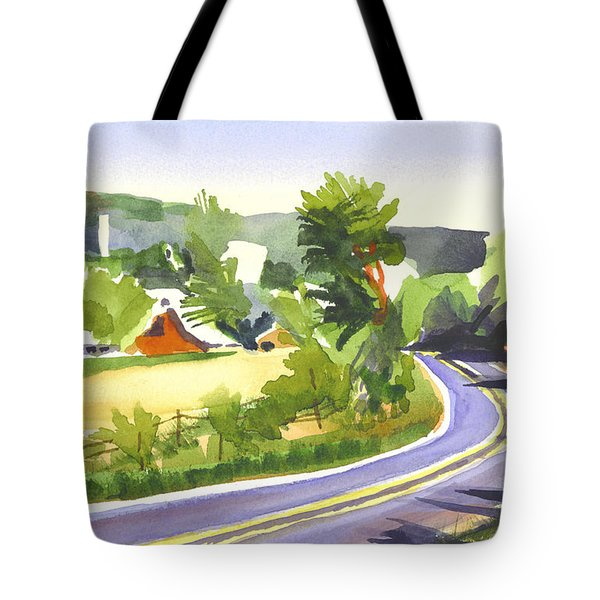 Pilot Knob Mountain Out Jj Tote Bag by Kip DeVore